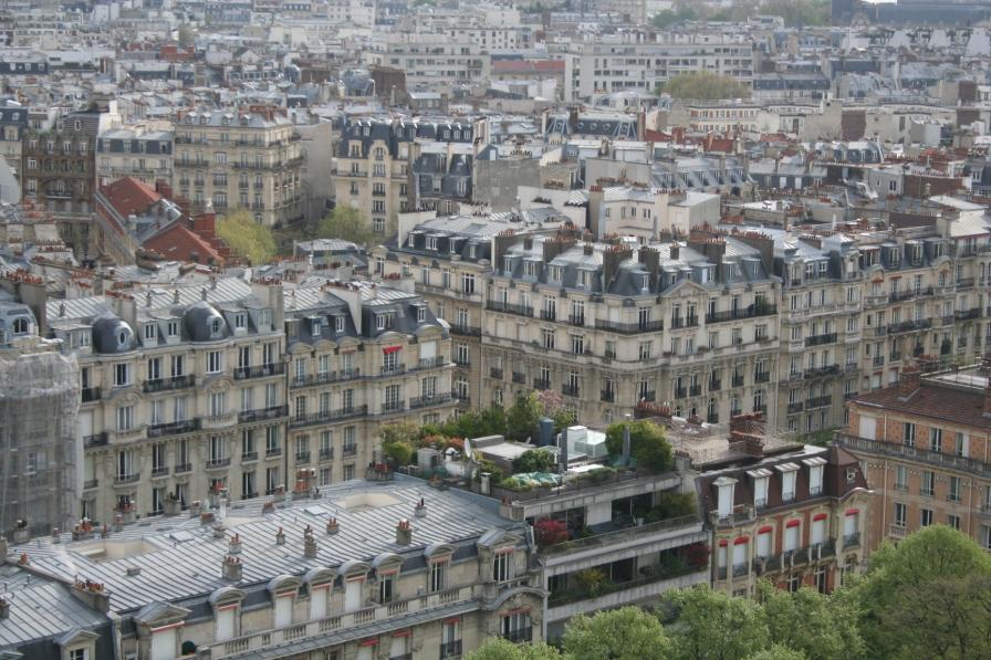 Parigi dalla torre Eiffel